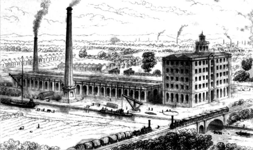 Bridgewater Foundary, 1847